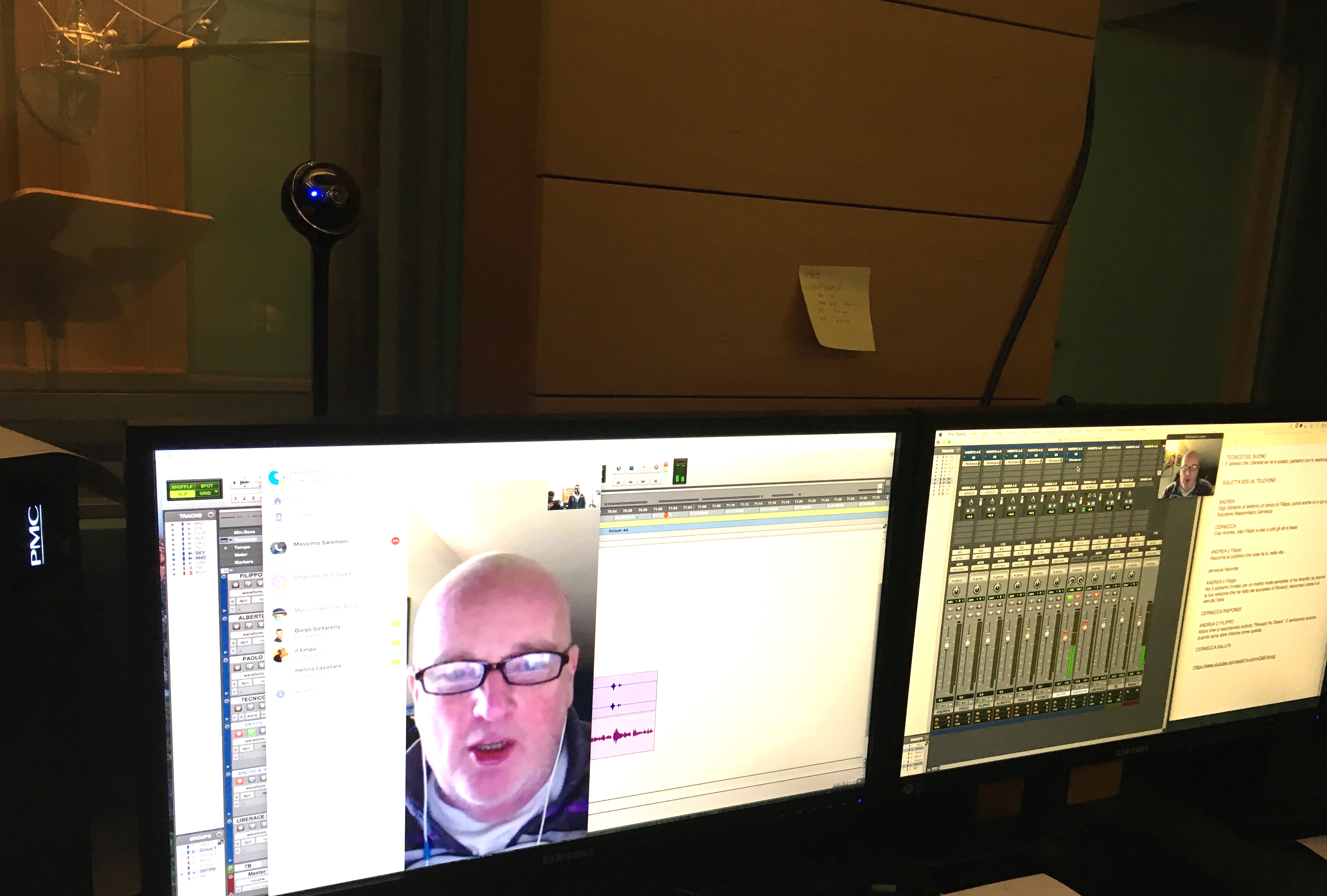 Webcam-in-ProTools